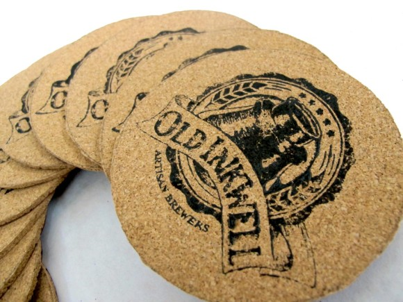beer coasters, package design